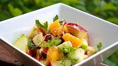 Apple and Orange Salad