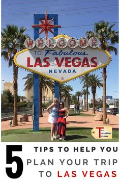A travel blog that provides practical tips for planning a trip to Las Vegas.