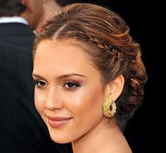think Lucy is going to have to have something like this as the plait is the right sort of size she'll be able to get