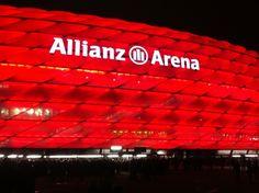 Allianz Arena şu şehirde: München, Bayern