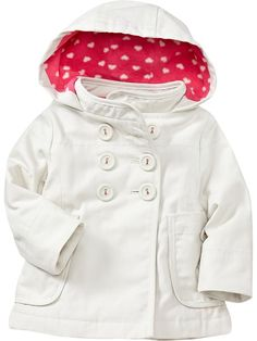 Hooded Canvas Jackets for Baby - Canvas
