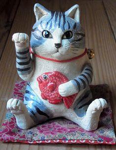 八郷の日々: 招き猫