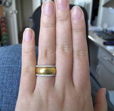 Wedding ring. Simple band.