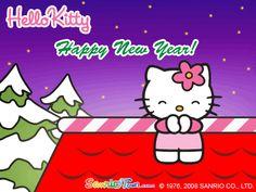 Hello Kitty Happy New Year Gif.
