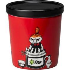 Muumit Purkki Pikku Myyn päivä 0,3 l Travel Mug, Canning, Tableware, Design, Amazing, Dinnerware, Tablewares, Home Canning