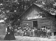 Freedmen's Bureau schools educated former slaves