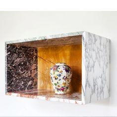marble box · flower jar #mullervanseveren #van_den_weghe @tanguyvq @van_den_weghe @valerie_traan_gallery