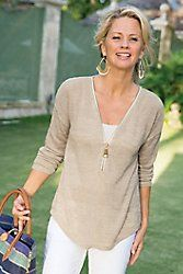Valentina Zip Sweater
