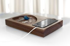 Tinsel and Timber iPhone Docking Station   Cool Mom Tech
