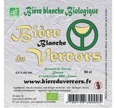 Bière BIO du Vercors blanche