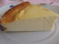 """El Puchero de Morguix: Tarta de queso """"de siempre"""": fet! Boníssim! 3 iogurts de llimona ( no bote de leche ideal)"""