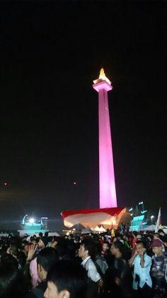 Monumen Nasional, Jakarta   March 2015