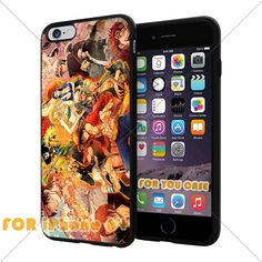OnePiece Anime Cartoon Manga Cell Phone16 Iphone Case, For-You-Case Iphone 6+ Plus Silicone Case Cover NEW fashionable Unique Design