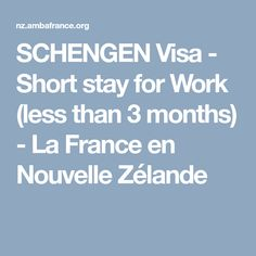 [(Please note: - As the application process includes taking a photo and the ten fingerprints of each applicant, it is not possible to send in a (. Work Shorts, Fingerprints, How To Take Photos, 3 Months, Stage, France, New Zealand, Baby Born, French