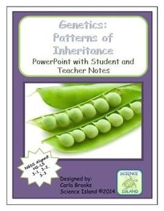 Patterns of Inheritance PowerPoint Lesson and Notes is designed for use during a Genetics Unit in a high school Biology class. It includes over 80 beautiful slides and 3 versions of notes so teachers can choose what works best for their students.
