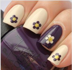 I am unfolding before you 15 + cute & easy fall nail art designs, ideas, trends & stickers of Try out these autumn nails this season and grab compliments from your pals. Cute Nails, Pretty Nails, My Nails, Smart Nails, Work Nails, Daisy Nails, Flower Nails, Nail Flowers, Fall Nail Art Designs