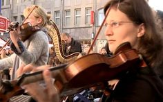 The WDR Symphony Orchestra organized a Star Wars flash mob fit for nerds.