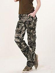 Pantaloni Da donna A sigaretta Casual Cotone Media elasticità