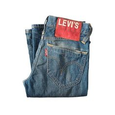 Jeans von Levi's ab 109,00 € im CONLEYS Online Shop ($120) ❤ liked on Polyvore featuring jeans, pants, bottoms, men, levi jeans and blue jeans