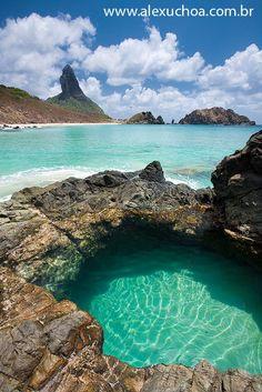 Praia do Cachorro, Fernando de Noronha Pernambuco, Brazil