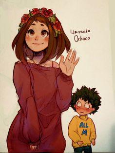 Characters: Uraraka Ochako, Midoriya Izuku