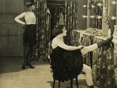 "Viola Dana in the ""Chorus Girl's Romance"" 1920"