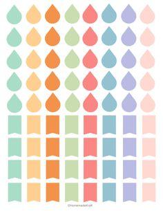 Filofax / Erin Condrin - Free Sticker Printable