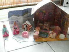 Baby Born Miniworld Haus Winterhaus in Spielzeug, Puppen & Zubehör, Babypuppen & Zubehör | eBay!