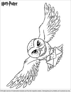 It's time for some coloring! With this Harry Potter picture to print and color. Harry Potter picture to print and color. Find and print your favorite cartoon coloring pages and sheets in the Coloring Library free! Harry Potter Colors, Harry Potter Font, Harry Potter Quilt, Harry Potter Printables, Harry Potter Tattoos, Harry Potter Sketch, Harry Potter Drawings, Harry Potter Pictures, Harry Potter Christmas