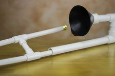 There are lots of musical instruments you can make from PVC pipe, and most of them are wind instruments -- flutes, pan pipes and so on. One of the more unique plastic instrument projects is the PVC trombone. Many designs for PVC trombones require you to build jigs for bending the pipe, but you can avoid all that by using pairs of sweep 90 degree...