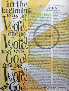 Artsy Faith | John 1...