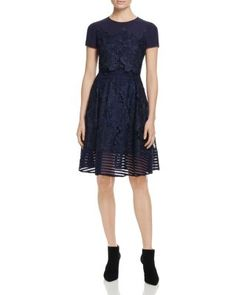 Ted Baker Limie Lace Overlay Dress - 100% Bloomingdale's Exclusive   Bloomingdale's