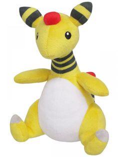 """""""Pokemon"""" Plush All Star Collection Vol. 3 PP28 Ampharos (S Size) ( Sanei-boeki )"""