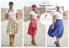 The absolute best video tutorial for beginner's sewing.  Walk with her through the store as she chooses her pattern, fabric, thread and zipper. Wonderful video
