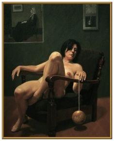 Peter Smeeth | Retrato del artista como un viejo títere 2008 Óleo sobre lienzo 150x120cm