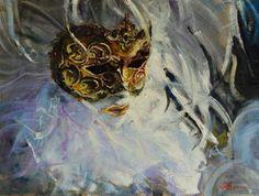 La Mascara de Carnaval by Marco Ortolan $724