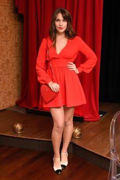 Lola Kirke - Outubro 2015 (Kate Spade New York Holiday Dinner)