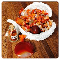 Carnelian Successful & Motivating Crystal   Gives a massive 'Energy Boost' Increases Ambition & Inspiration  Attract Prosperity & Good Luck 'Placed at your front door Carnelian will invoke  Protection & bring Abundance into the home' Carnelian is traditionally worn to enhance  Passion, Love & Desire xxx