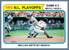 1973 NY Mets  | Mets Baseball Cards Like They Ought To Be!: 1974 MFC '73 NLCS…