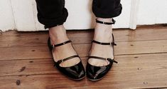 Strappy Ballet Flats