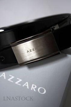Ceinture Azzaro cuir verni ref.8121VN  ceinture  menswear  fashion  cuir   a2d772d77b6