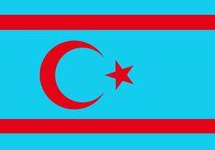 Surian Turkmens(Turks) Turkish Nation Flag