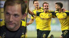 BVB-Trainer Thomas Tuchel freut sich über die Entwicklung von Mario Götze.