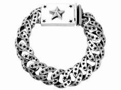 B Bear loves this :)   #Silver Star Link #Bracelet KING BABY STUDIO - OFFICIAL SITE