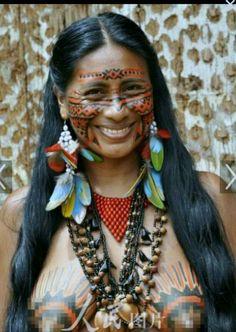rainforest woman Amazon tribe