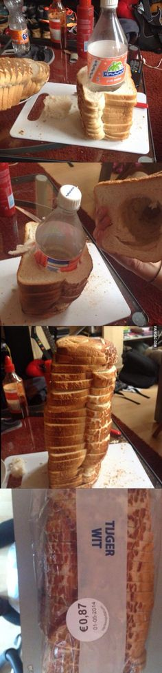 It's Just Bread Officer // funny pictures - funny photos - funny images - funny pics - funny quotes - WOW.not a bad idea Funny Images, Funny Photos, Funny Cute, Hilarious, Six Feet Under, Totally Me, Pranks, Make You Smile, Just In Case
