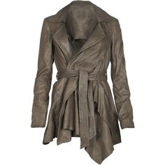 Blaze Jacket ($350) ❤ liked on Polyvore featuring outerwear, jackets, coats, tops, coats & jackets, women, moto zip jacket, zipper jacket, biker jacket and brown biker jacket