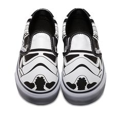 Summer Vans Shoes for the Star Wars Skate Set... I know a kid who would love these!