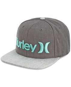 For a stylish way to finish your look, reach for this cool, six panel 0 and 0 cap from Hurley.   Cotton/spandex   Spot clean   Imported   Logo at front   Six panel design   Web ID:2831287