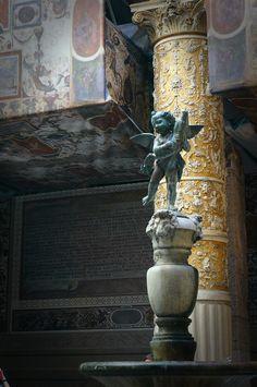 Palazzo Vecchio, Firenze, Italy 피렌체 베키오 궁전의 아기천사상